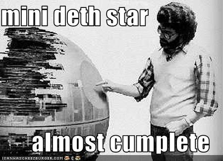 mini deth star  almost cumplete