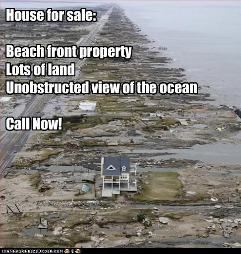 House for sale:  Beach front property Lots of land Unobstructed view of the ocean  Call Now!