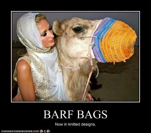 BARF BAGS