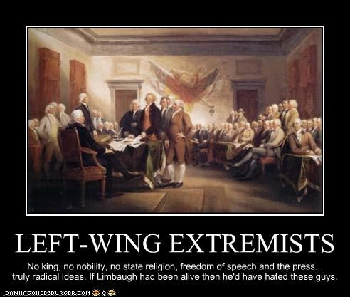 LEFT-WING EXTREMISTS