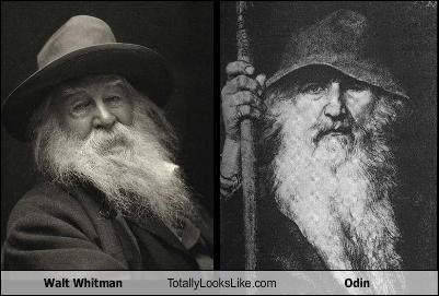 Walt Whitman Totally Looks Like Odin