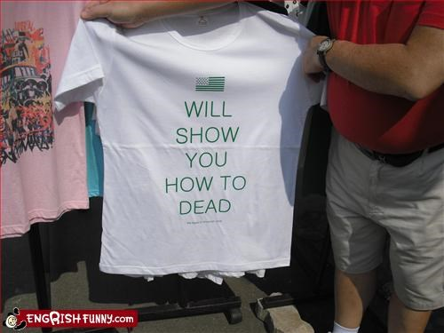 American Flag,clothing,dead,show,T.Shirt