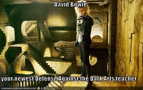 David Bowie  your newest Defense Against the Dark Arts teacher