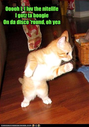 Ooooh I, I luv the nitelifeI gotz ta boogieOn da disco 'round, oh yea
