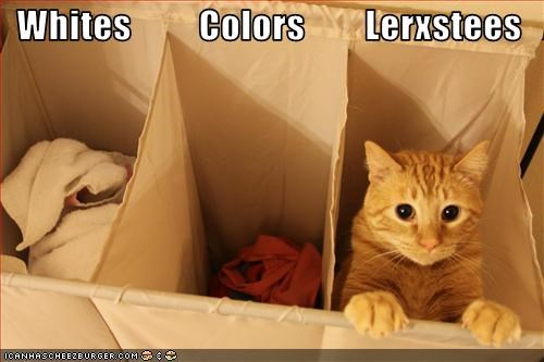 Whites         Colors        Lerxstees