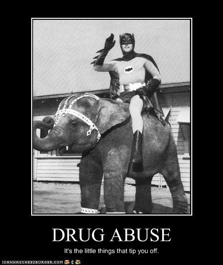 Adam West,batman,classic tv,drugs,elephant