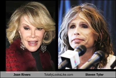 Joan Rivers Totally Looks Like Steven Tyler