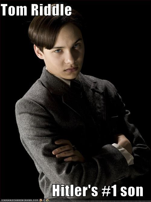 Tom Riddle  Hitler's #1 son