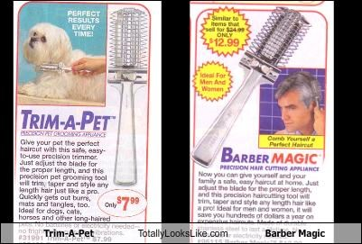 Trim-A-Pet Totally Looks Like Barber Magic