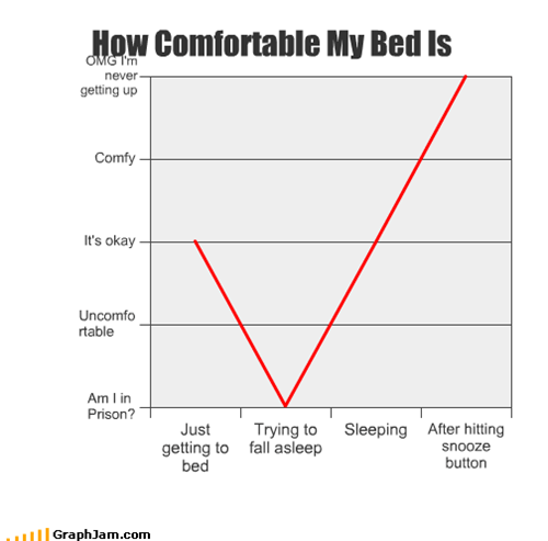 How Comfortable My Bed Is