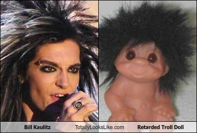 Bill Kaulitz Totally Looks Like Retarded Troll Doll