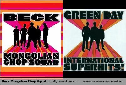 Beck Mongolian Chop Sqard Totally Looks Like Green Day International Superhits!