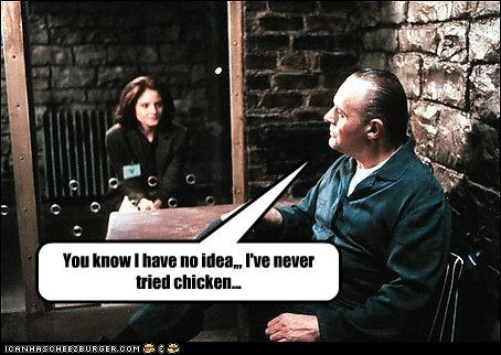 You know I have no idea,,, I've never tried chicken...
