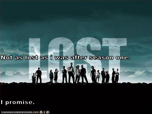Not as lost as i was after season one. I promise.