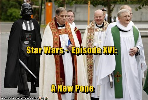 Star Wars -  Episode XVI: A New Pope