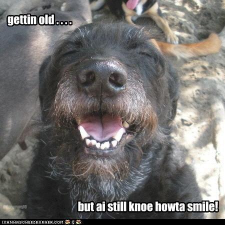 gettin old . . . .