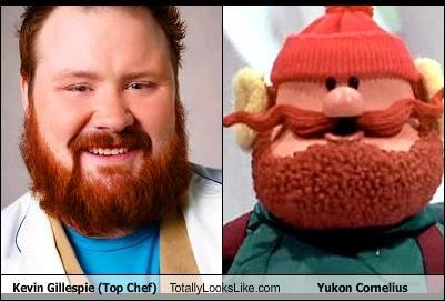 Kevin Gillespie (Top Chef) Totally Looks Like Yukon Cornelius