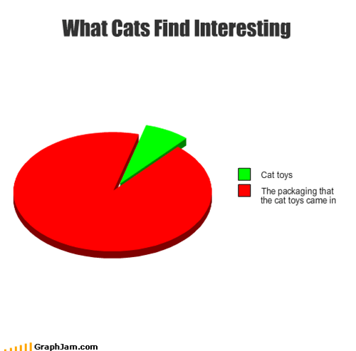 Cats,interesting,packaging,Pie Chart,toys