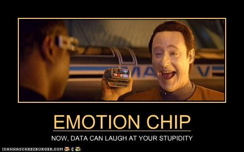 brent spiner,data,emotions,laugh,levar burton,sci fi,Star Trek,stupidity