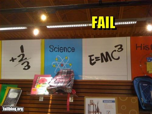 Mass–Energy Equivalence Fail