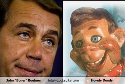 John Boehner, howdy doody, speaker of the house, the worst
