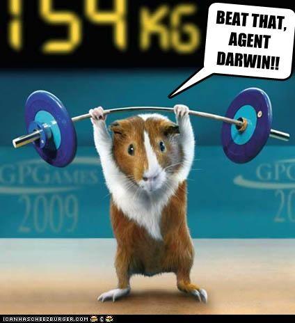 BEAT THAT, AGENT DARWIN!!
