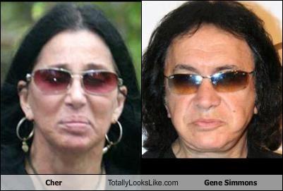 Cher Totally Looks Like Gene Simmons
