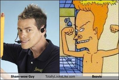 Sham-wow Guy Totally Looks Like Beavis