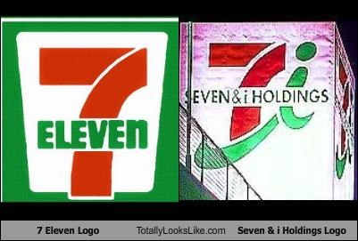 7 Eleven Logo Totally Looks Like Seven & i Holdings Logo