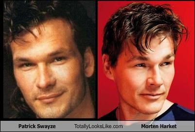 Patrick Swayze Totally Looks Like Morten Harket