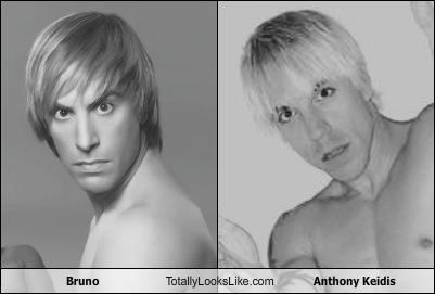 anthony keidis,blonde,bruno,hair,hair style,sacha baron cohen,the red hot chili peppers