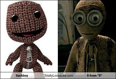"Sackboy Totally Looks Like 9 from ""9"""