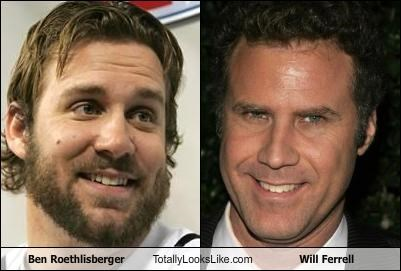 Ben Roethlisberger Totally Looks Like Will Ferrell
