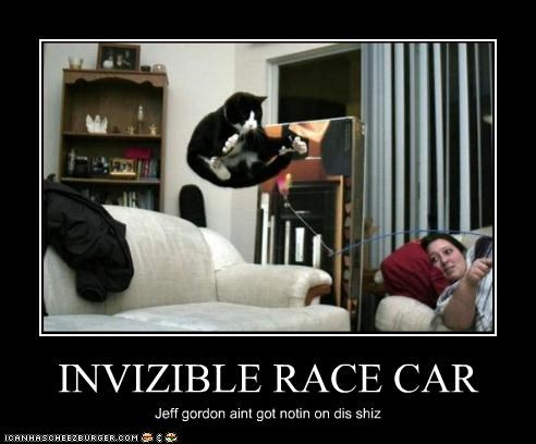 INVIZIBLE RACE CAR