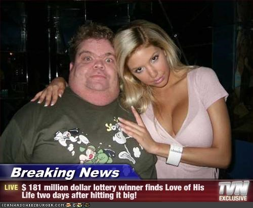 Breaking News - $ 181 million dollar lottery winner finds Love of His Life two days after hitting it big!