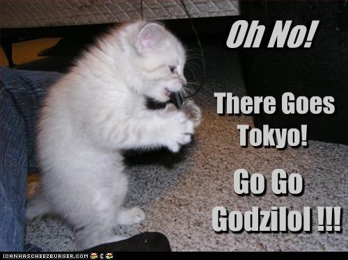Oh No! There Goes Tokyo Go Go Godzilol !