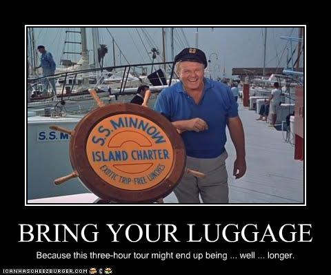 BRING YOUR LUGGAGE