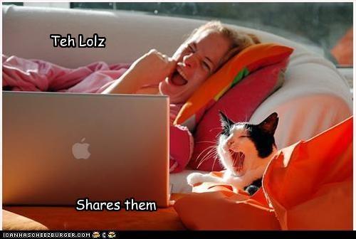 laptop,laughing,lol,sharing