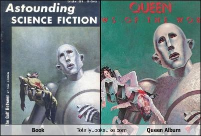 Book Totally Looks Like Queen Album