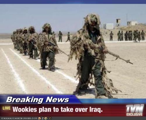 ghillie suits,soldiers,star wars,uniforms,Wookies