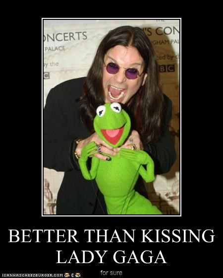 BETTER THAN KISSING LADY GAGA