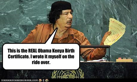 This is the REAL Obama Kenya Birth Certificate. I wrote it myself on the ride over.