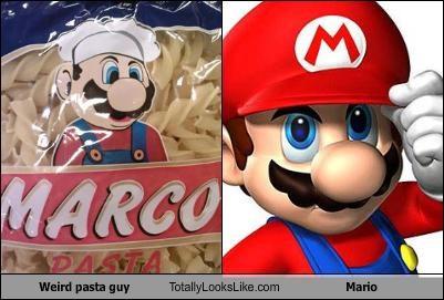 italian stereotype,logo,pasta,super mario,super mario brothers