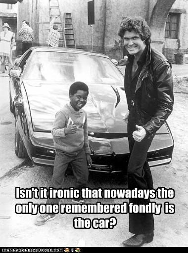 Isn't it ironic that nowadays the only one remembered fondly  is the car?