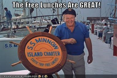 The Free Lunches Are GREAT!