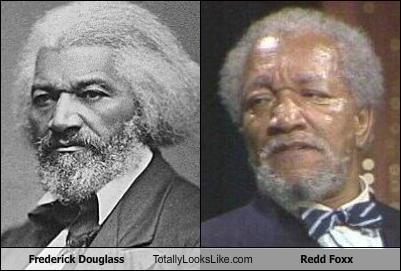 Frederick Douglass Totally Looks Like Redd Foxx