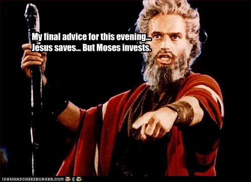 My final advice for this evening...