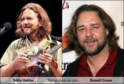 Eddie Vedder Totally Looks Like Russell Crowe
