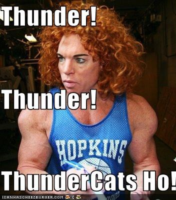 Thunder Cats on Thunder  Thunder  Thundercats Ho    Cheezburger