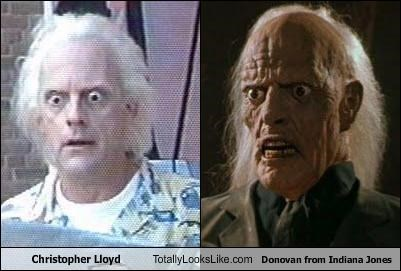 Christopher Lloyd Totally Looks Like Donovan from Indiana Jones